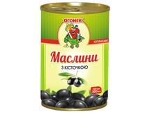 "Маслины ""Огонек"" без кост. 300 г (24)"