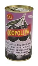 """Маслины """"Coopoliva"""" без косточек 370 г"""
